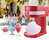 Vivo © Retro Slushy Maker Machine Kit - Make Slush Snow Cones Slushie Ice Cold Drink