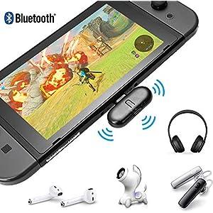 ROUTE + Bluetooth Wireless Audio USB-Transceiver für Nintendo Switch USB Typ-C Sender und Empfänger