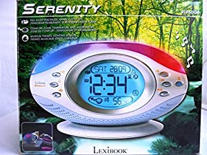 Lexibook RL960GB- Radio despertador, 2 LR 6 / AA, adaptador: 6