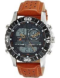 Fastrack Analog-Digital Black Dial Men's Watch-38035SL04