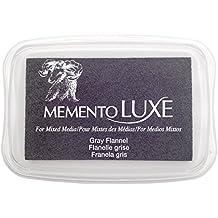 Memento Luxe Tsukineko Gray Flannel - Almohadilla de tinta, color gris