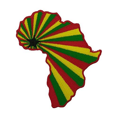 Afrika-patch (Aufnäher / Iron on Patch