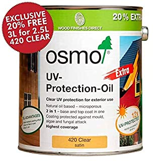 Osmo UV Protection Oil Extra 125ml - Natural - 429 Extra
