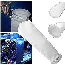 igemy 200micras filtro calcetín bolsa para cárter de arrecife de acuario tanque de peces marinos Divine negro