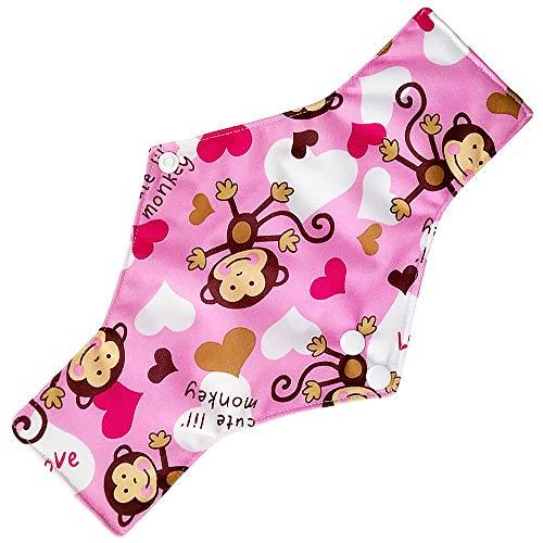 (Mitlfuny Gesundheit Und SchöNheitDIY Dekoration 2019,Wiederverwendbare Bambus-Tuch waschbar Menstruationskissen Mama Sanitär Handtuch Pad)