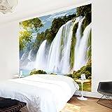 Vliestapete–Amazon Waters–Wandbild quadratisch