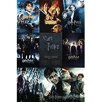 Póster 'Harry Potter, colección', Tamaño: 91 x 61 cm