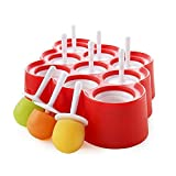 Best Ice Pop Moisissures - FPBS 9 x Mini Silicone Ice Cream Moulds Review