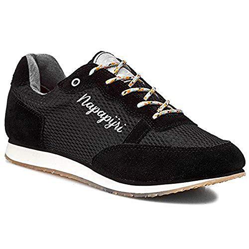 Napapijri Footwear Albie, Damen Sneakers, schwarz (Black N00), 38 EU