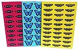 Robert William A5Tropische Schmetterlinge Notebook 1Stück 3Notebooks
