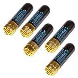 TOOGOO 5PCS/Lot Doppel-Band UHF + Vhf SRH805S SMA-Weibliche Antenne Fuer Baofeng UV-5r BF-888s UV-5 UV-5RA UV-5re TK3107 2107 10W 144/430MHz