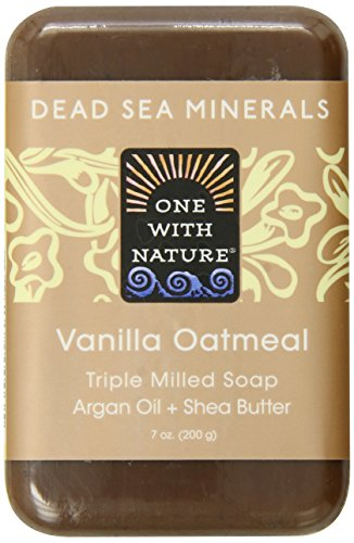 One With Nature Vanilla Oatmeal Dead Sea Mineral Soap, 7 Oz. Bar (Pack of 36) by NATURE'S BEST