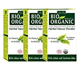 Indus Valley Bio Organic Herbal Henna Powder (Set of 3)