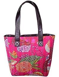 Silkgram Textile Beautifully Design Mandala Handmade Cotton Multi Colour Shoulder Bag For Women