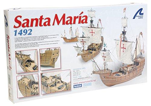 Artesanía Latina 22411 - Modell aus Holz: Karavelle Santa María 1/65