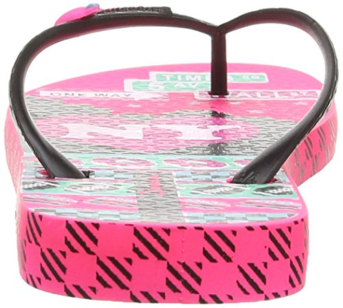 Ipanema Unique III, Tongs femme Noir (23908/Pink/Black/Green)