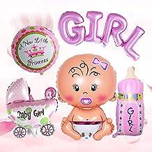 Fiesta De Cumpleaños Para Bebés Globos De Una Pieza BOY GIRL Serie Temática Globos De Aluminio