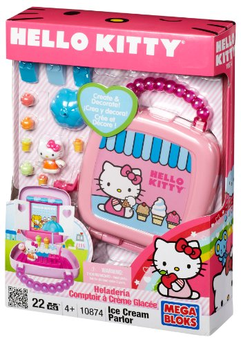 MEGA BLOKS: Hello Kitty: Ice Cream Parlor