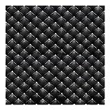 Bilderwelten Vliestapete - Diamant Schwarz Luxus - Fototapete Quadrat Vlies Tapete Wandtapete Wandbild Foto, Größe HxB: 336cm x 336cm
