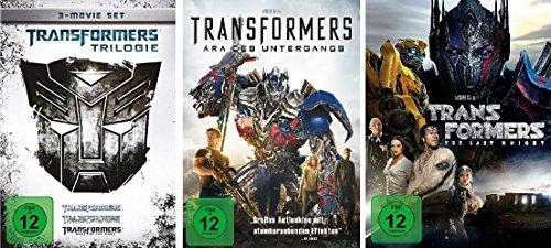 Transformers 1-5 (1-3 + 4 + 5) im Set - Deutsche Originalware [5 DVDs] (Teil Transformer)