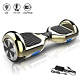 COLORWAY Hoverboard Overboard 6.5 Pouces,E-scooter Intelligent Self-balance Gyropode avec LED,...