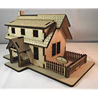Build Your Own Fairy Village in Miniature - Fairy Cottage - Wooden Fairy House/Dolls House Kit