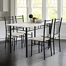 Amazon.es: conjunto mesa y sillas cocina baratas