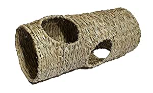 Naturals Small Animal Activity Woven Jumbo Play Tunnel by Rosewood Pet Products