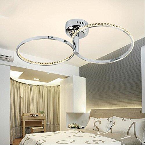 Suspensions Nouveau cristal chinois plafond simple éclairage rond cristal simple éclairage de la salle d'éclairage en cristal