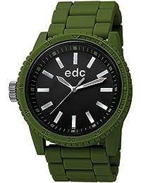 edc by ESPRIT Damen-Armbanduhr Analog Quarz Plastik