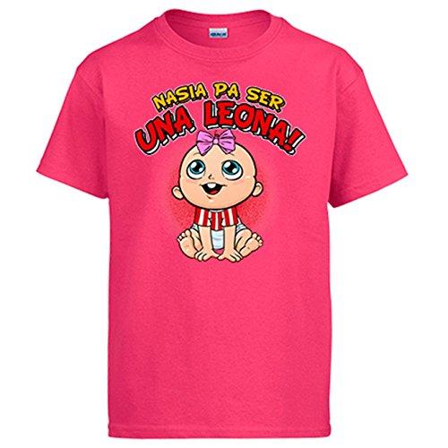 Camiseta nacida para ser una Leona Athletic Bilbao fútbol - Rosa, M