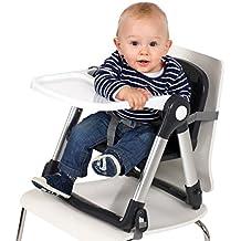 FLIPPA siège rehausseur pliable de Mykko - rehausseur de chaise - siège rehausseur pour enfants capables de s'asseoir bien droit. Le design moderne de ce siège s'intègre dans tout intérieur.