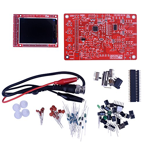 "Kuman DSO138 Oszilloskop DIY kit 2.4"" TFT LCD Digital Open Source"