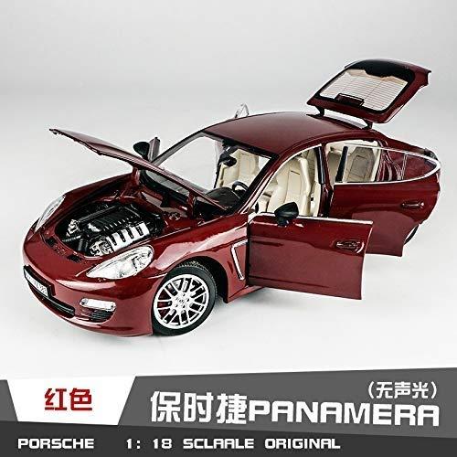 JTWMY Modellautosimulation Legierung Statisches Auto Modell 1:18 Geschenke für Kinder 28 × 11x7cm (Color : Red)