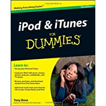iPod & iTunes For Dummies, Book + DVD Bundle by Tony Bove (2010-02-02)