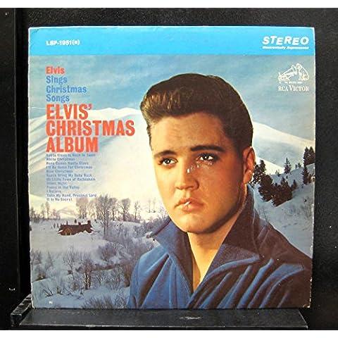 Elvis Presley Christmas Album rare 12 inch 33 rpm LP Vinyl Album Record - see pictures for all titles