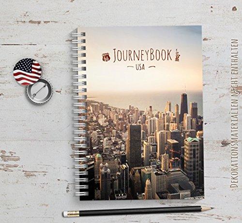 Reisetagebuch USA / Amerika zum selberschreiben oder als Abschiedsgeschenk