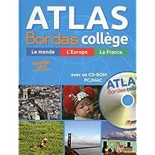 Atlas Bordas collège (1Cédérom)