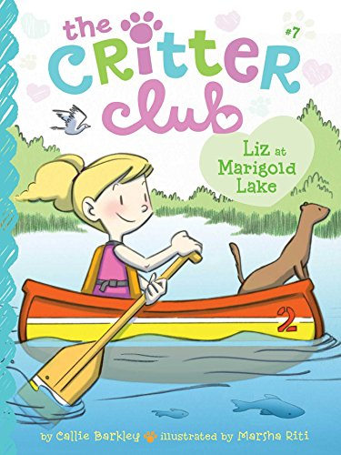 Liz at Marigold Lake (Critter Club)