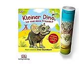 DK Verlag Kleiner Dino, Wo Sind Deine Freunde?: Mein liebstes Dino-Soundbuch + 1. Dinosaurier Poster mit Tyrannosaurus Rex by Collectix