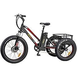 Addmotor Triciclo eléctrico 24 pulgadas
