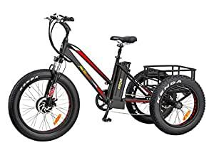 addmotor motan electric trike 24 inch fat tyre electric bike three wheels 500w 10 4ah removable. Black Bedroom Furniture Sets. Home Design Ideas