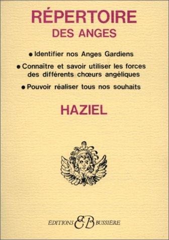 Répertoire des anges par Haziel