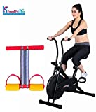 #5: Body Gym Exercise Cycle BGA-1001 for Weight Loss at Home | Bonus Tummy Trimmer for Stomach Exercise | Fitness Bike with Abdominal Exerciser | by KS Healthcare