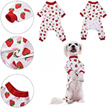 Ropa para perros Camisa para perros Pijamas de algodón de diseño de noche de algodón vestido de noche Pijama de gato para la ropa de Awhao XL