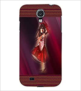 PrintDhaba Umbrella Girl D-4073 Back Case Cover for SAMSUNG GALAXY MEGA 6.3 (Multi-Coloured)