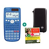 Casio FX 85 GT Plus Blau + Schutztasche + Lern-CD (auf Deutsch)