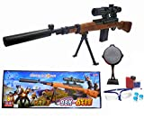 HALO NATION® PUBG Kar98K Classic Sniper Rifle Toy Gun - Real Scale Mercenary