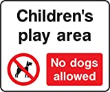 Parques e Área de Set INSTRUCCIÓN Adesivo zona di gioco bambini no Dogs Allowed
