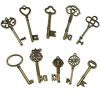 PsmGoods® Vintage Skeleton Antique Keys fascino DIY